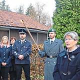 Bürgermeisterin Gerti Menigat kritisierte beim Volkstrauertag, dass Hass und Hetze heute wieder zunehmen