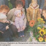 Im Jahr 2005 übernimmt Pfarrer Martin Prellinger den Pfarrverband