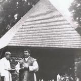 1987 Einweihung der Kapelle am Gr. Falkenstein