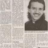 Januar 1997: Kaplan Ganserer geht nach Afrika.