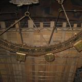 Gewölbe über Radleuchter