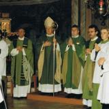 Am 23. Oktober 1994: Festgottesdienst zum 100-jährigen Kirchenbaujubiläum unserer Pfarrkirche mit H.H. Bischof Eder.