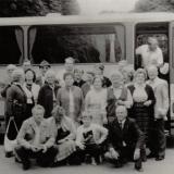 Ausflug des Kirchenchores im Jahr 1969