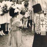Am 5. Juli 1953 feiert Josef Gröger, der Bruder des langjährigen Ludwigsthaler Pfarrers Johann Gröger seine Primiz in Ludwigsthal.