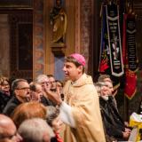 Bischof Oster bei der Predigt