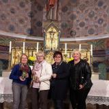 Die  4 (neuen)  vom Mesnerdienst - Anna Ruder, Anita Baierl, Claudia Ganserer und Corinna Schröder