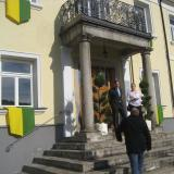 Das festlich geschmückte Ludwigsthaler Schloss